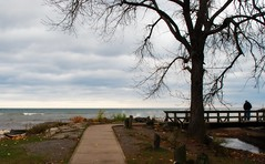 Lake Ontario (blmiers2) Tags: autumn trees sea sky lake newyork seascape color tree green fall nature water beautiful yellow clouds season landscape geotagged nikon october seasons branches lakes lakeontario webster inlandlake websterny ontariofishing lakesontario blm18 blmiers2
