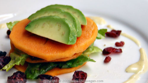 Fuyu Persimmon Salad