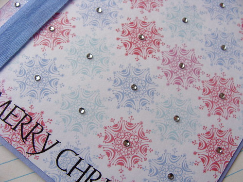 Simple Christmas Card - Close-Up
