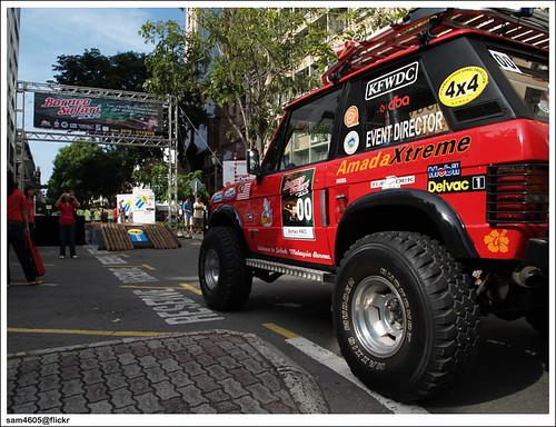 4x4 Borneo Safari 2009 Flag Off - Range Rover of James Wong