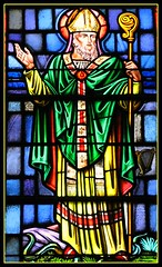 St. Patrick (Loci Lenar) Tags: new ireland irish news art church saint photography interestingness interesting colorful catholic rss faith religion saints blogs christian photoblog wikipedia catholicchurch bloglines christianity stpatrick flickrblog patronsaint saintpatrick christianart dovernj patronsaintofireland scaredheartcatholicchurch