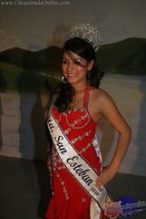 Señorita San Esteban 2009: Tania Margarita Palma Estévez