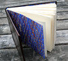 Hardcover Leather Journal (MyHandboundBooks) Tags: blue leather bookbinding journals handbound casebinding myhandboundbooks hardcoversketchbook