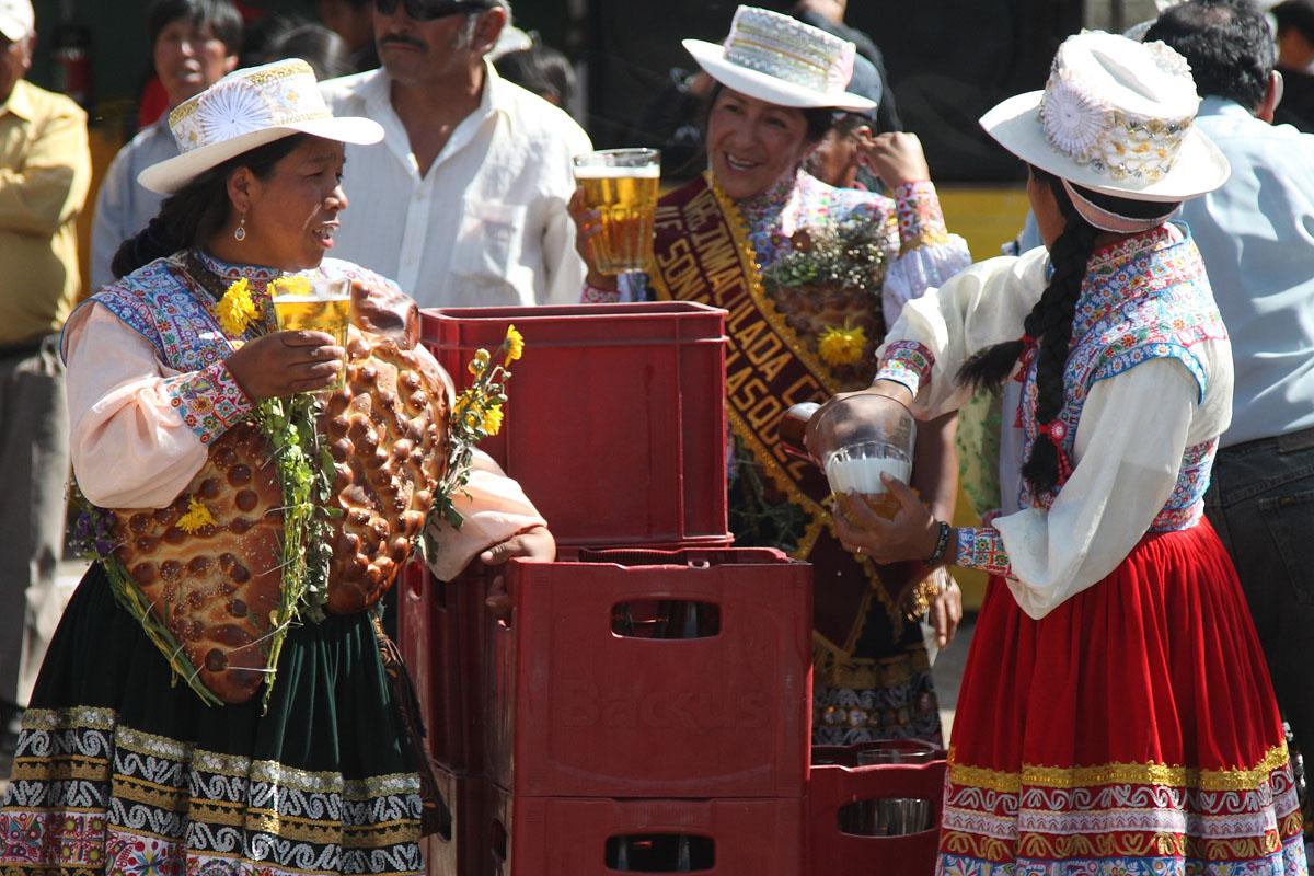 Okiem lokalsa, czyli festyn w Arequipie