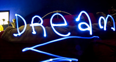26/365 you can always... (<amy.e.frost>) Tags: longexposure bed dream led flashlight amyefrost
