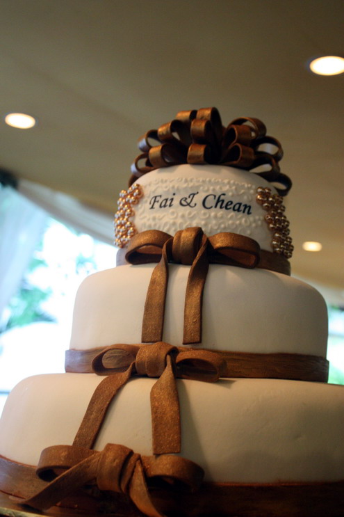 Fai & Chean wedding cake 4