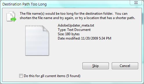 Can't Delete Folder,