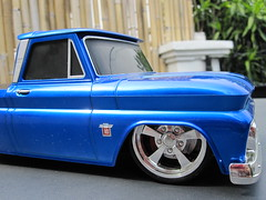 1/16 scale R/C Maisto 1964 Chevy C-10 (Jose Michael S. Herbosa) Tags: chevrolet gm philippines collection chevy manila lowrider rc dub lowered toycar radiocontrol slammed maisto chevyc10 lowridertoys canonsd780isdigitalelph lowriderrc