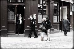 Bar (Che-burashka) Tags: street winter cold london love bar vintage pub kiss couple soho streetphotography romance retro smoking sailor centrallondon londonist 400d