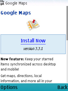 Google Map 3.31 Step 1
