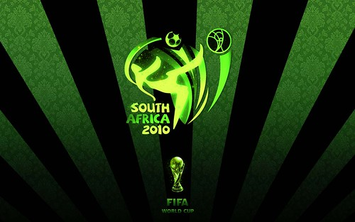 2010 World Cup Wallpaper Green