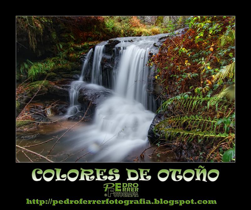 Colores de Otoño - Cascada en Ucieda