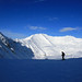 Hintertuxer Gletscher - lonely skier