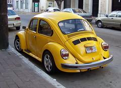 MZT09m033 Mazatlán Street Yellow VW Beetle, Mexico 2009 (CanadaGood) Tags: color colour car yellow méxico vw volkswagen mexico automobile parking centro beetle mexican vehicle streetphoto mazatlan 2009 sinaloa type1 mazatlán 2000s canadagood
