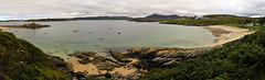 Talmine Bay (FOlmeda) Tags: panorama beach scotland nikon playa escocia panoramica platja d300 scotlanda