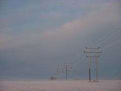Telephone masts in a frosty field (allispossible.org.uk) Tags: blue winter sky white cold color colour english colors field lines clouds landscape landscapes frozen colorful colours geometry pastel country perspective cables fade mast fading pylons distance masts chill ambience oxfordshire distant winterlandscape cabels cuddesdon telephonemasts englishwintercountrylandscapes ambiencelandscapes