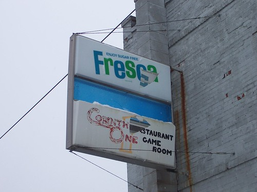 Vintage Fresca Sign by The Upstairs Room.