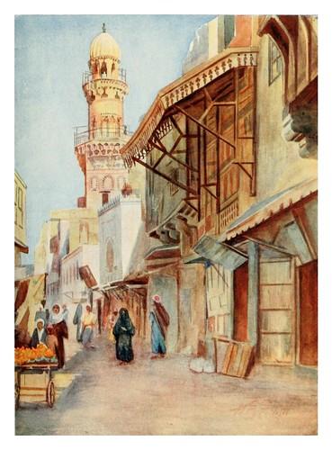 011-Mezquita del Sultan Bibars en el Cairo-Cairo, Jerusalem, and Damascus..1907- Margoliouth D. S.