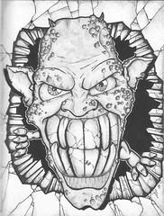 grem (tameblue) Tags: graffiti sketch crazy drawing tag doodle gremlin marker graff tame sketched tameblue