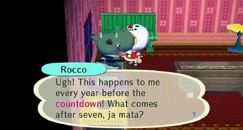 Either 8 or 6 depending on direction, Rocco
