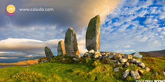 Eightercua standing stones alignment waterville :: Ancient Ireland Images :: historcial landscape photography kerry (* Madeleine Calaido Weber * - calaido.com) Tags: ireland ancient standingstones waterville historical alignment countykerry ringofkerry iveraghpeninsula eightercua southwestkerry
