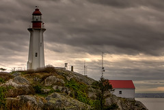 Atkinson Lighthouse (TylerIngram) Tags: lighthouse hdr westvancouver lighthousepark pointatkinson 3xp 3exp atkinsonlighthouse