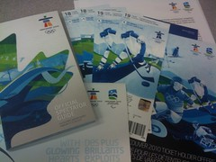 Our Olympic tickets are here.