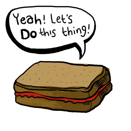 The Motivational Jam Sandwich