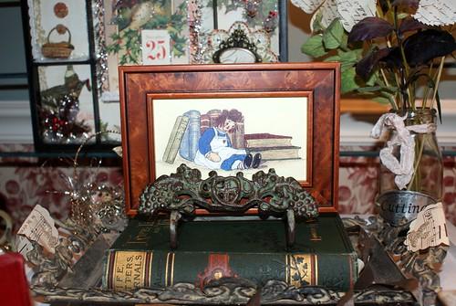 Raggedy Ann framed