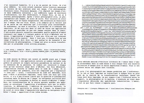 étoilements scan-double page texte