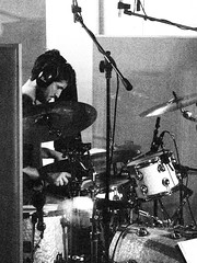 Sam Heard, drums 1 (ryland.haggis) Tags: studio drums raw bc bass drummer recording sessions abbotsford recordingstudio bassplayer electricbass rylandhaggis colinbullock samheard