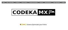 Codeka MX - Inicio