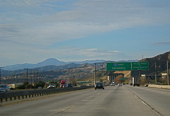5 North Before The Grapevine (Ari Lynn Day) Tags: blue sky mountains sign losangeles 5 north freeway sacramento grapevine