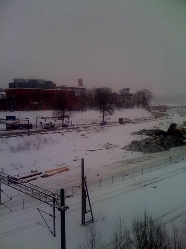 Snö i januari