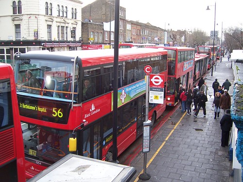 Kingsland Road Bus Park