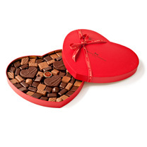 Maison du Chocolat heart-shaped box