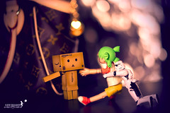 Something She Just Cant Resist.. (achew *Bokehmon*) Tags: storm love girl zeiss bag louis robot starwars amazon heart box sony carl 135 alpha f18 figurine vuitton lv yotsuba danbo a850 danboard strooperbokeh