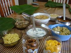 dsc03771 (MoNOloGuE0) Tags: cuisine kerala banana onam buttermilk pappadam achar payasam sadya avial onasadya