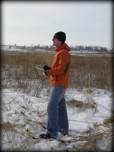 Z Snowshoe hike