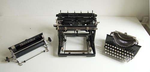 Mercedes No.5 typewriter 5/13