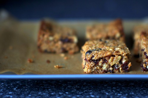 thick, chewy granola bars | smitten kitchen