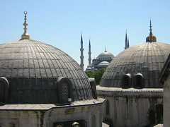 Istanbul,2005.07 015 (aniko_balogh) Tags: turkey istanbul mosque bluemosque sultanahmet camii ayasofia torokorszag
