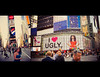 Time Square 2008 (isayx3) Tags: street city nyc people newyork 35mm nikon diptych crowd timesquare f2 nikkor tones d3 uglybetty plainjoe isayx3