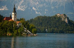 Lake Bled (Desmond Charles Photography) Tags: lake slovenia lakebled julianalps bledisland pilgrimagechurchoftheassumptionofmary