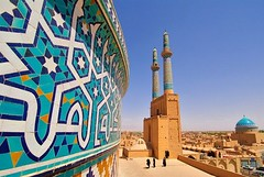 The Jmeh Mosque of Yazd _Iran (ali reza_parsi) Tags: iran yazd iranmap iranmapcom