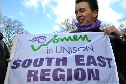 Cath with Unison banner