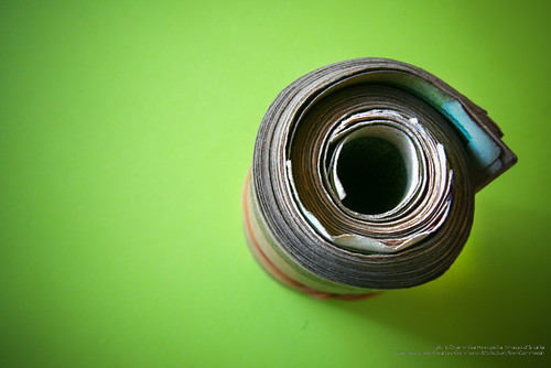 Rolled currency - ISL_Hr91nn_H0001CON000 by Dhammika Heenpella / Images of Sri Lanka, on Flickr