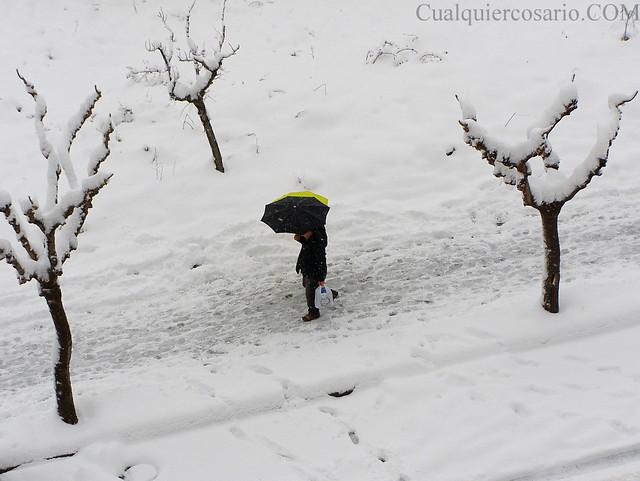 Amanecer blanco - triangulando el paso