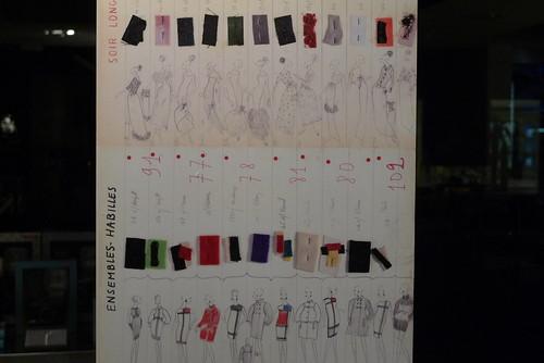 Vitrine Yves Saint Laurent - L'œuvre Intégral, Colette, Paris mars 2010