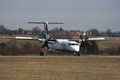 G-JECS - 4142 - FlyBe - De Havilland Canada DHC-8-402Q Dash 8 - Luton - 100316 - Steven Gray - IMG_8536